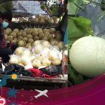 เกษตรกรสู้พิษโควิด ขนแคนตาลูปใส่กระบะขายหน้าศาลากลางพิษณุโลก